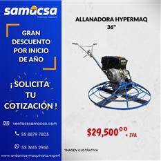 """Allanadora Hypermaq 36"""" promoción"""