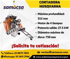 Cortadora FS3500G para piso