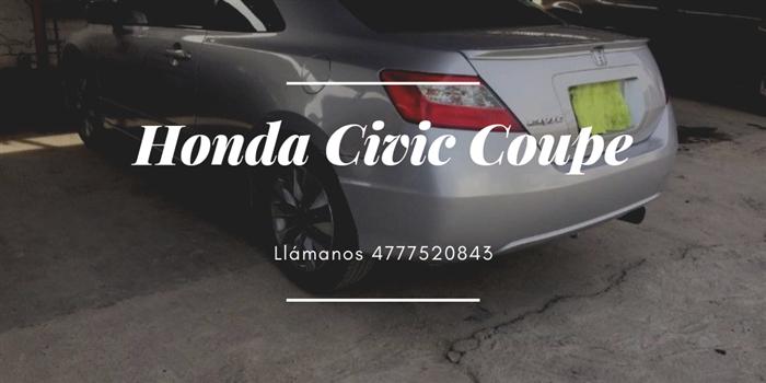 Honda Civic Coupe Desde $214000