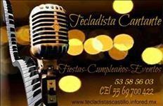 Tecladista Cantante para Fiestas, Cumpleaños Eventos