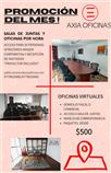 OFICINAS VIRTUALES PAQUETES $500
