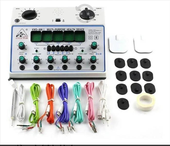 Electroestimulador Para Acupuntura De 6 Canales