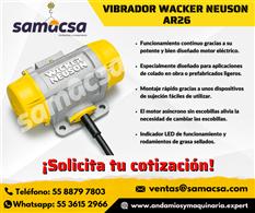 Vibrador Wacker para hormigón