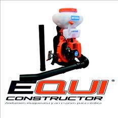 Fumigadora para líquido y polvo equiconstructor