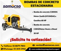 Bomba Mayco para concreto