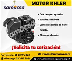 Motor marca Kohler a gasolina