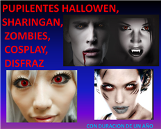 Mayoreo pupilentes para halloween