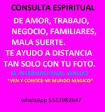 CONSULTAS ESOTÉRICAS Y ESPIRITUALES A DISTANCIA