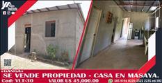Venta de Casa en masaya-granada