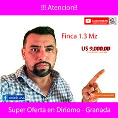 SUPER OFERTA FINCA EN DIRIOMO
