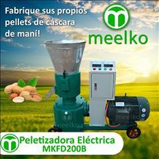 Meelko Peletizadoral para alfalfas y pasturas MKFD200A