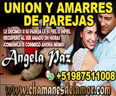 RECUPERO AL SER QUE AMAS EN HORAS ANGELA PAZ +51987511008