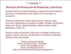 Servicios de Promoción de Productos y Servicios