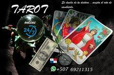 """TAROT online 24/7  """"desbloqueos, lecturas y rituales """""""