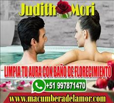 LIMPIA TU AURA CON BAÑO DE FLORECIMIENTO JUDITH MORI