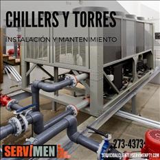 Servicio Tecnico de A/A,Torres de Enfriamiento,Chillers