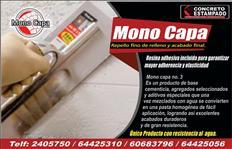 Monocapa y repellos/  wall recovering