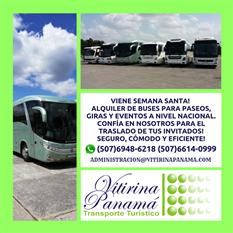 Alquiler de Buses en Panamá