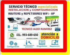 TECNICO DE INTERNET CABLEADOS DE RED A DOMICILIO
