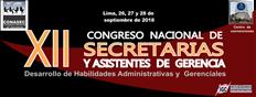 CONGRESO NACIONAL DE SECRETARIAS Y ASISTENTES DE GERENCIA