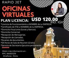 OFICINA VIRTUAL MAS LICENCIA USD 120