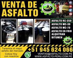 Asfalto rc -250 preparacion de asfalto en caliente