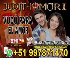 VUDÚ PARA EL AMOR JUDITH MORI +51997871470