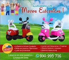 Motos para Niños Electrica Bateria Nuevas