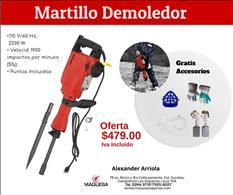 Martillo Demoledor Eléctrico.