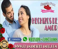 RETORNO DE AMOR ANGELA PAZ +51987511008