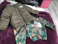 NORTH FACE TRACKSUIT 3/6 months
