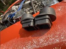 Datsun 240Z Downdraft Weber Setup
