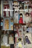 Huge Lot of Porcelian. Dolls, New
