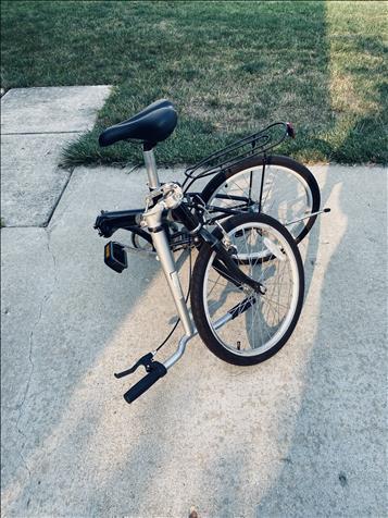 Collapsible Men'S Bike