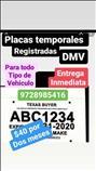 Permisos/placas/Temporales/$50