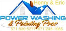 PowerWash and painting