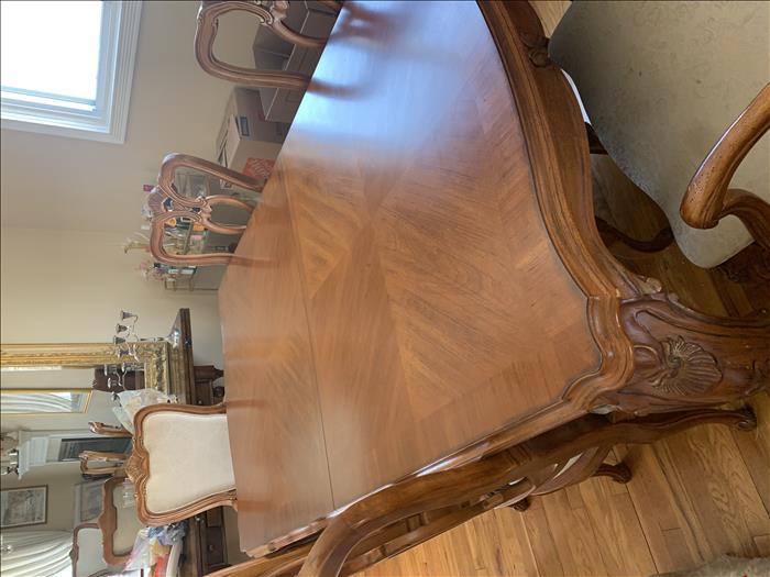 Beautiful Wood Dining Room Set