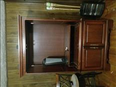 TV entertainment center armoire