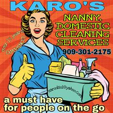 Karo's nanny/ house keeping